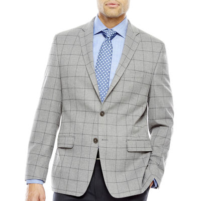 Collection by Michael Strahan Grey Flannel Classic Fit Sport Coat
