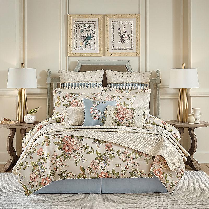 Croscill Lucine Queen Comforter Set 4, Croscill Queen Size Bedding Sets