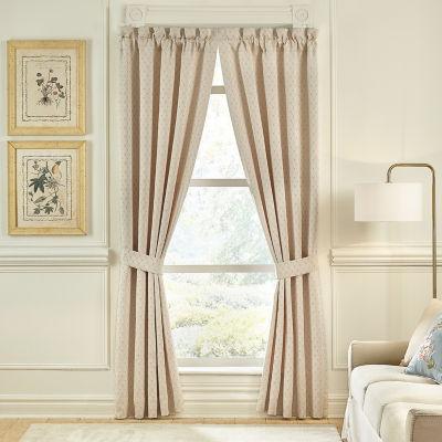 Croscill Classics Carlotta Rod-Pocket Curtain Panels
