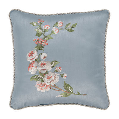 Croscill Classics Carlotta 16x16 Square Throw Pillow