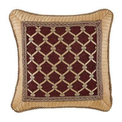 Croscill Classics Gianna 16x16 Square Throw Pillow