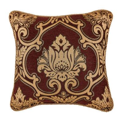 Croscill Classics Gianna 18x18 Square Throw Pillow