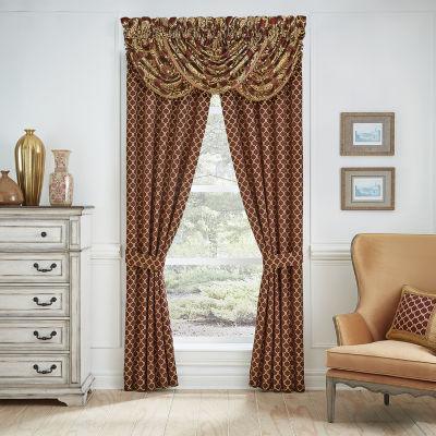 Croscill Classics Gianna Rod-Pocket Curtain Panels