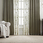 JCPenney Home Hilton Light-Filtering Rod-Pocket Curtain Panel