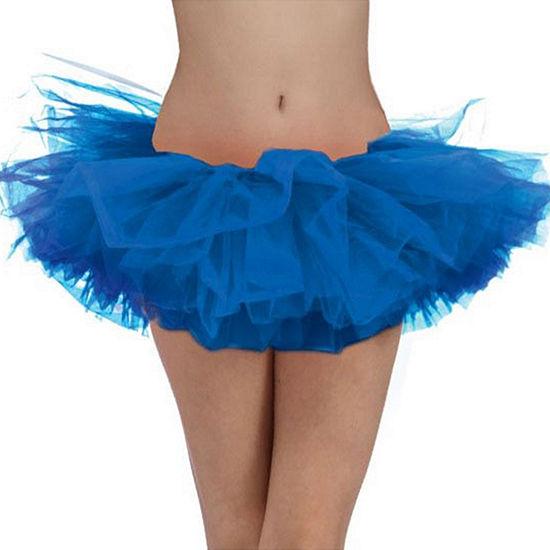Womens Blue Tutu Dress Up Accessory