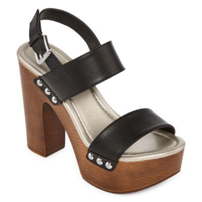 a.n.a Womens Lillie Heeled Sandals