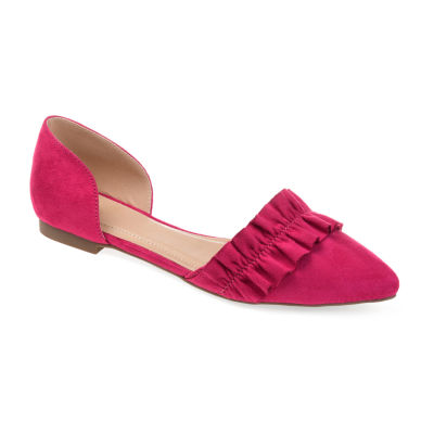 Journee Collection Womens Arina  Pointed Toe Slip-On Shoe