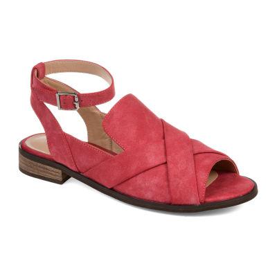 Journee Collection Womens Suzy Peep Toe Slip-On Shoe