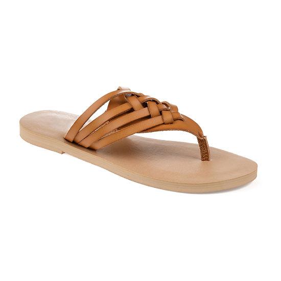 Journee Collection Womens Jc Ameelya Flip-Flops