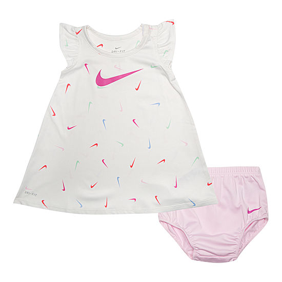 Nike Sleeveless T Shirt Dresses Baby Girls
