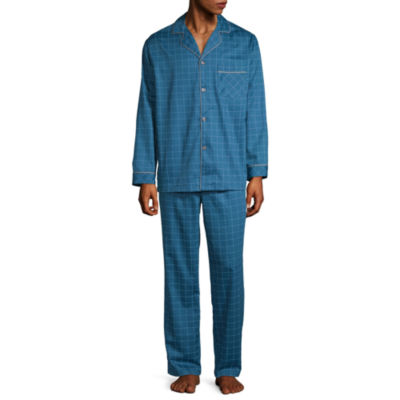 Stafford Sateen Pajama Set - Big and Tall