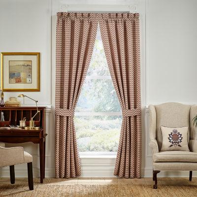 Croscill Classics Lauryn Rod-Pocket Curtain Panels