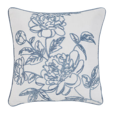Croscill Classics Zoelle 16x16 Square Throw Pillow