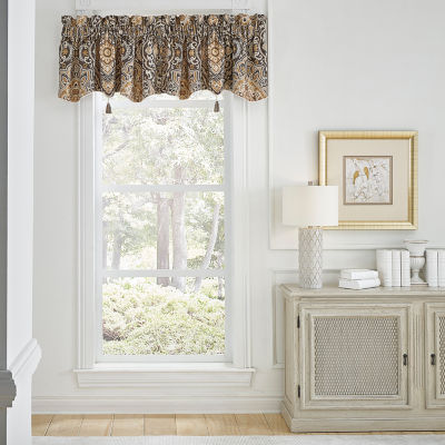 Croscill Classics Philomena Rod-Pocket Tailored Valance