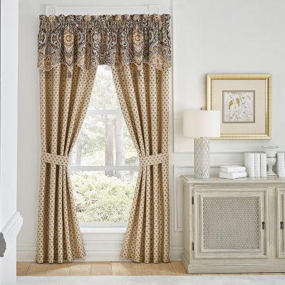 Croscill Classics Philomena Rod-Pocket Curtain Panels