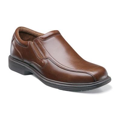 Nunn Bush Bleeker St. Men's Bicycle Toe Dress Slip-on Shoes