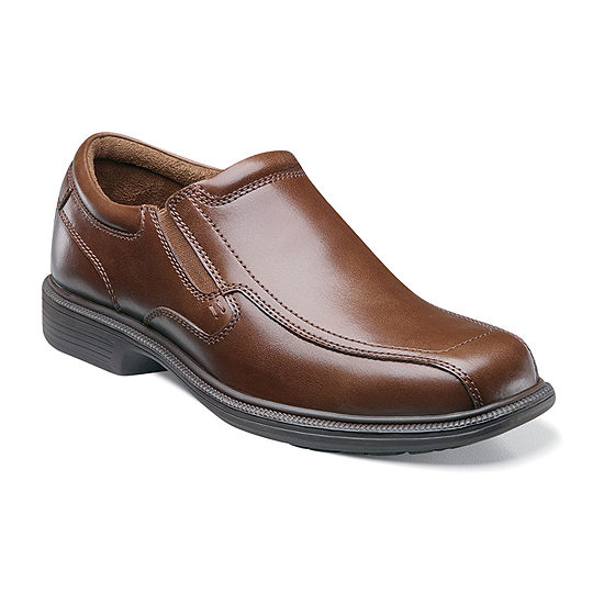 Nunn Bush Bleeker St. Men's Bicycle Toe Dress Slip-on Shoes