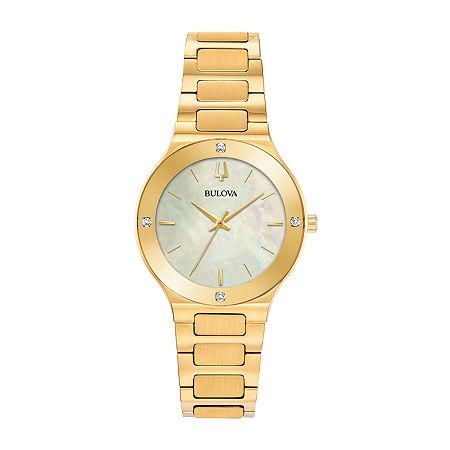 Bulova Millennia Womens Stainless Steel Bracelet Watch - 97r102, One Size