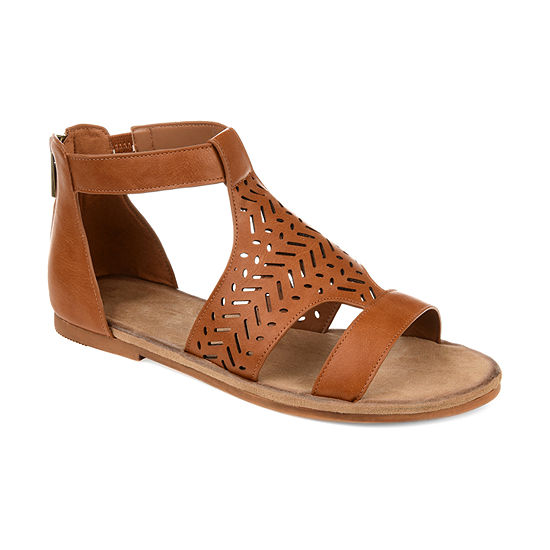 Journee Collection Womens Lilah Flat Sandals