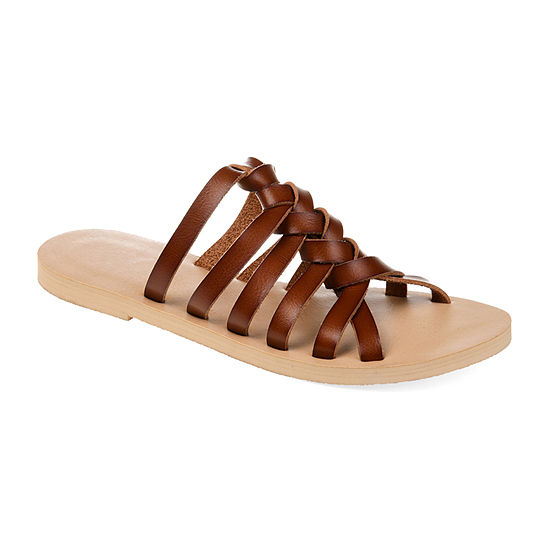 Journee Collection Womens Waverly Flat Sandals