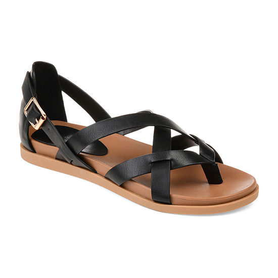 Journee Collection Womens Ziporah Gladiator Sandals