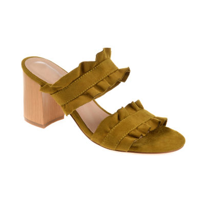 Journee Collection Womens Channing Heeled Sandals