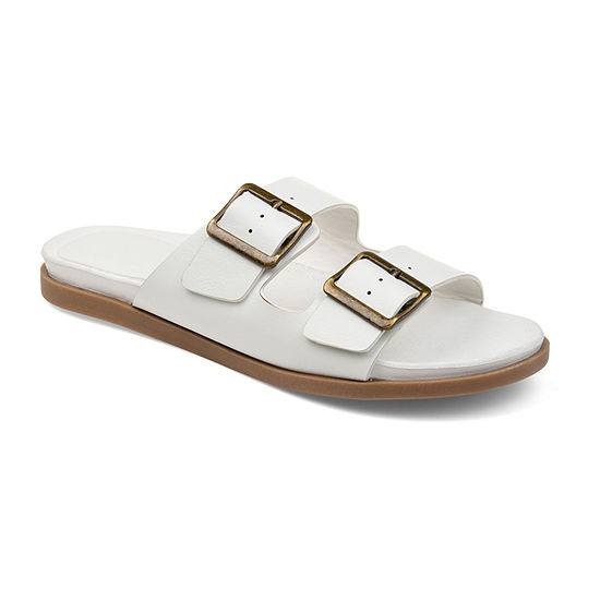 Journee Collection Womens Whitley Slide Sandals