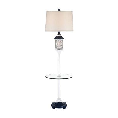 Seahaven Coastal Lantern Resin Floor Lamp