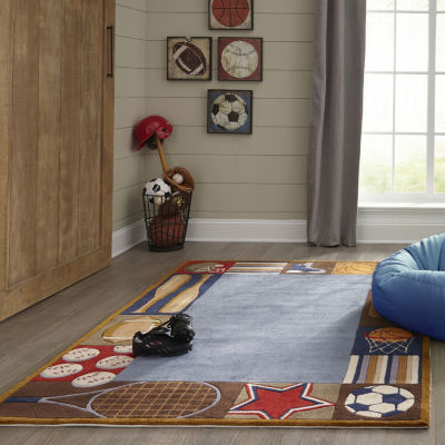 Momeni Lil Mo All Star Hand Tufted Rectangular Indoor Accent Rug