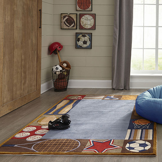 Momeni Lil Mo All Star Hand Tufted Rectangular Indoor Rugs