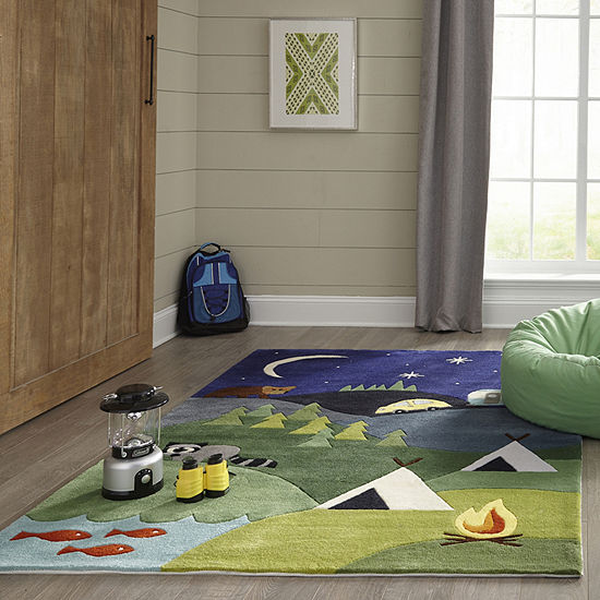 Momeni Lil Mo Camp Hand Tufted Rectangular Indoor Rugs