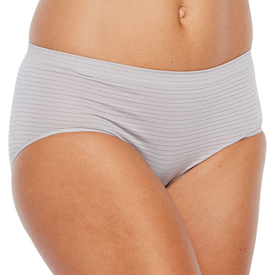 Ambrielle® Seamless Lace Cheeky Panty