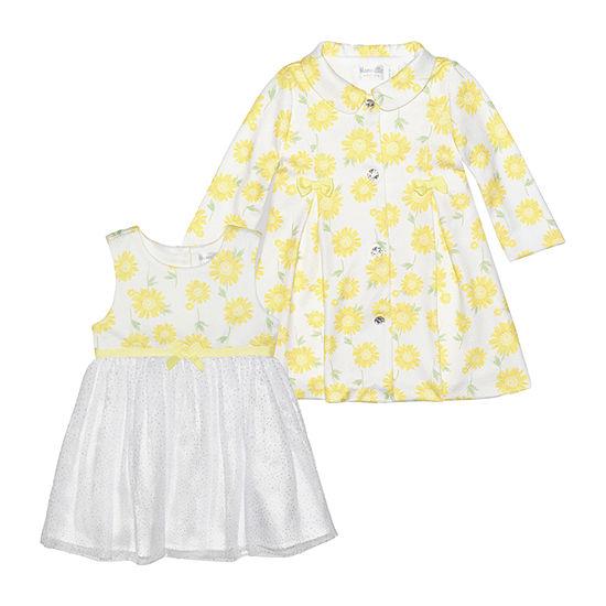 Nannette Baby Girls Sleeveless 2-pc. Dress Set