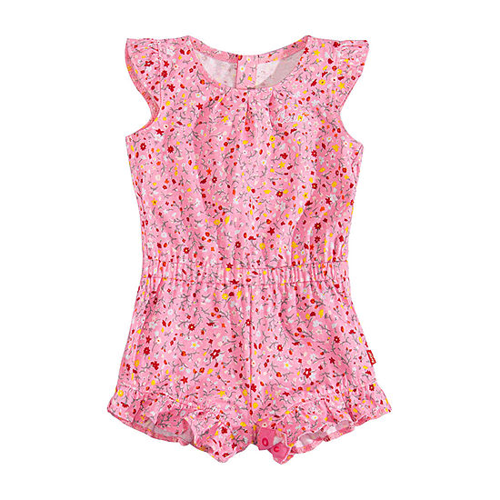 Levi's Baby Girls Sleeveless Romper