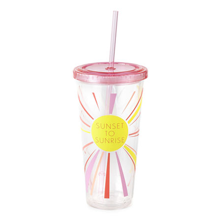 Outdoor Oasis Tumbler, One Size , Pink