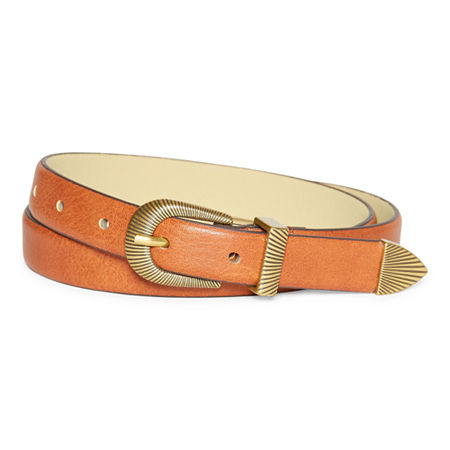 Vintage Western Wear Clothing, Outfit Ideas a.n.a Textured Western Womens Belt X-large  Brown $17.59 AT vintagedancer.com