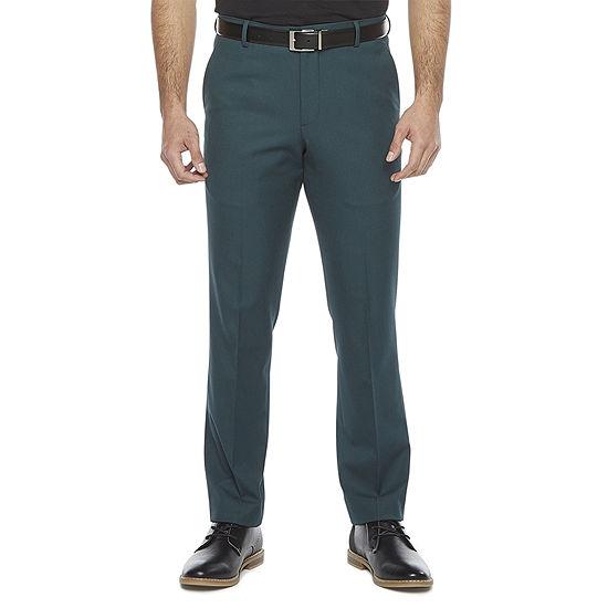 JF J.Ferrar 360 Mens Stretch Slim Fit Tuxedo Pants
