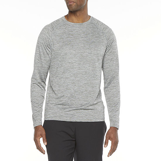 Xersion Everair Mens Crew Neck Long Sleeve T-Shirt
