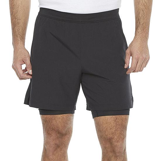 Xersion 2-In-1 Mens Running Short