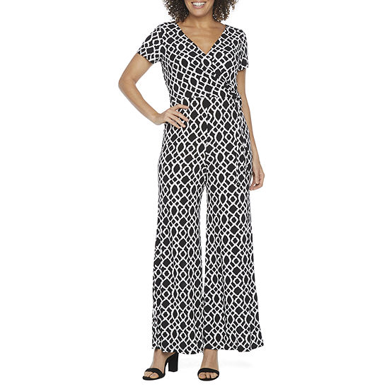 Ronni Nicole Short Sleeve Jumpsuit