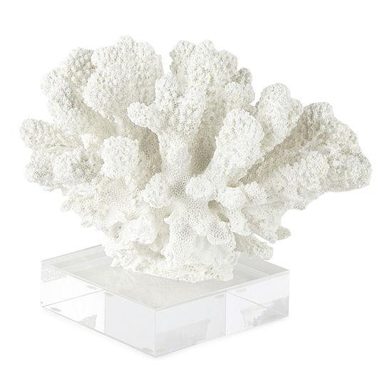"Liz Claiborne 4.75""H Coastal Coral Tabletop Decor"