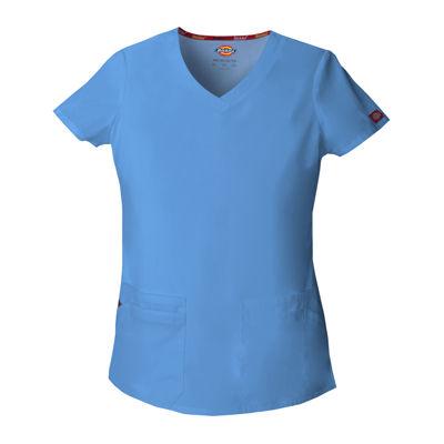 Dickies® 85906 Womens V-Neck Scrub Top– Junior Plus