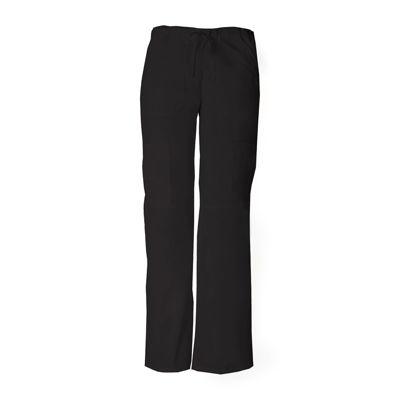 Dickies® 85100 EDS Signature Womens Low-Rise Cargo Scrub Pants–Junior Petite