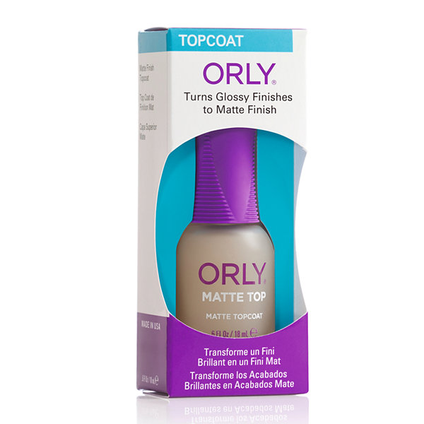 ORLY® Matte Topcoat - .6 oz.