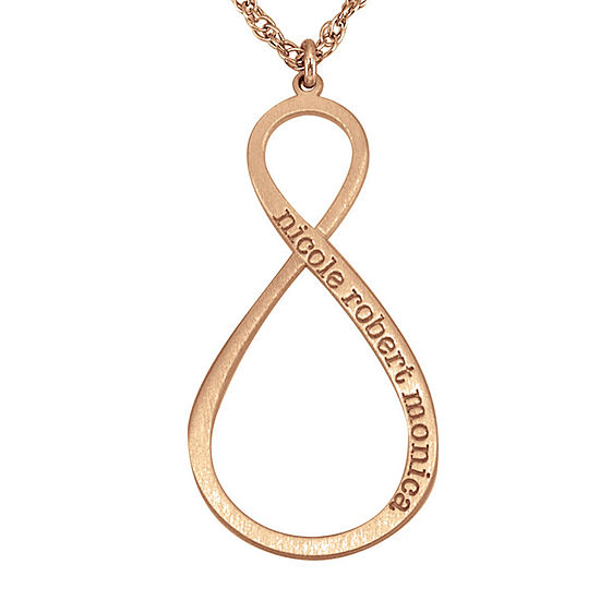 Personalized Infinity Pendant Necklace