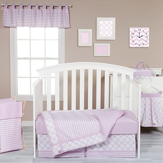Trend Lab® Orchid Bloom 3-pc. Crib Bedding Set