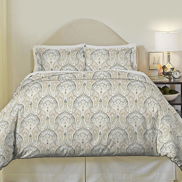 Pointehaven Cedar 200tc Duvet Cover Set