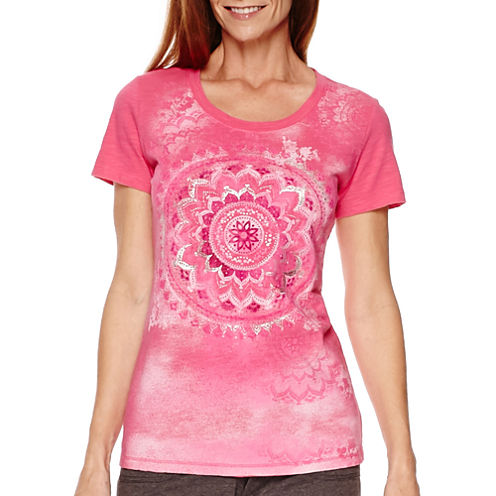 Made for Life™ Short-Sleeve Medallion Graphic T-Shirt