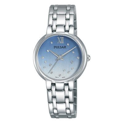 Pulsar Womens Silver Tone Bracelet Watch-Ph8301