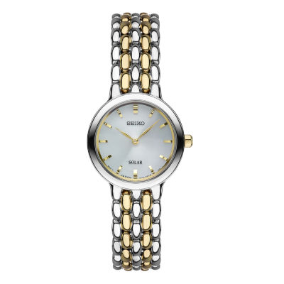 Seiko Womens Two Tone Bracelet Watch-Sup349